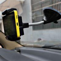 R83手机座导航架 多功能汽车GPS支架 可调节 360度旋转44-2B\1239