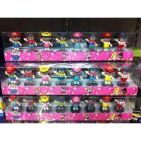 东杰玩具手办批发  8款小云底板公仔 透明彩盒装 阿拉蕾  IQ博士