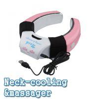 供应颈椎按摩器 颈部肩部腰部按摩枕正品治疗颈椎按摩仪电动白领必备
