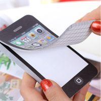 2020韩国创意苹果手机iphone 4 便签本 便签纸迷你可爱记事本