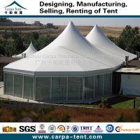供应厂家特价直销河南中空玻璃墙篷房/河南透明PVC窗铝合金篷房
