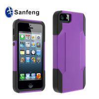 促销打折大抢购iPhone5超级二合一套装保护套 苹果5g 硅胶+pc