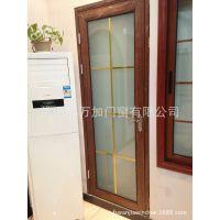 【惠万加】铝合金艺术玻璃门 卫浴门 平开门 卫生间厨房门