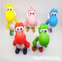 搪胶储蓄罐,卡通动漫公仔,恐龙玩具 ,PVC动漫卡通恐龙,搪胶玩具