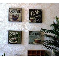 家居良品卧室客厅咖啡厅酒吧复古挂画装饰画电表箱画