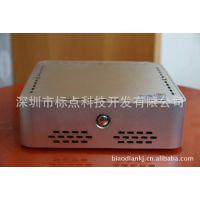 生产定做低功耗迷你电脑主机 D525 1.8G双核迷你台式机