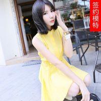 供应网店服装免费代销 韩国东大门服装批发 品牌女装代理加盟 连衣裙