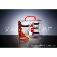 厂家定做空白透明折盒 PVC塑料包装盒 环保化妆品长方形塑胶盒