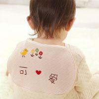 5月新品  鲍勃骑士BOBKIDS有机棉宝宝吸汗巾儿童垫背巾儿童吸汗巾