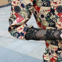 2014秋冬新款韩版装长袖加绒立领蕾丝打底衫上衣女 大码