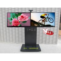 晶固LY28-1带柜子液晶电视移动支架,挂单屏可挂两个屏移动落地挂架