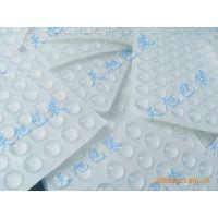 生产厂家供应亚克力工艺品防滑透明胶垫 圆柱形环保透明防滑垫