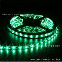 LED滴胶防水3528超亮灯带低压软灯条五米绿色
