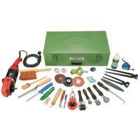 吉林省德国进口整套 各种规格输送带接头工具 皮带修补套装