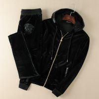 2014秋冬新品 男式长袖休闲套装 男士立领休闲运动套装 一件代发