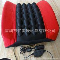 厂家订制头枕靠垫 毛绒抱枕 布艺抱枕 保健按摩腰靠垫