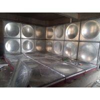 锅炉系统用镀锌钢板热水箱_优质水箱厂家