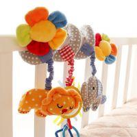 高品质 sozz 婴儿毛绒玩具 音乐床绕 带音乐的布艺益智玩具