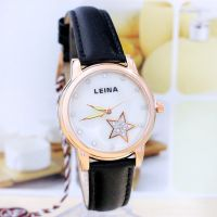 时尚潮流爆款女士手表来自星星的你同款休闲皮表厂家直销