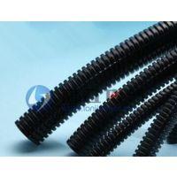 供应AD28.5波纹浪管 黑色尼龙波浪管 波浪形塑料软管  50米/卷