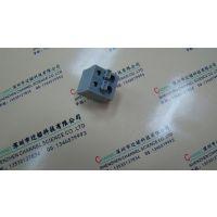 免螺丝接线端子500-5.0MM-2P灰色直插铵钮式接线厂家大批发价