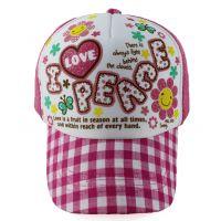 实体企业 厂家直销 专业设计 支持来图来样订做 新款时尚儿童帽