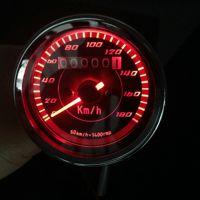 合祥摩托车改装里程表 复古里程表仪 摩托车仪表 改装仪表 摩托车改装时速表