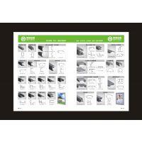 加工生产超薄灯箱铝材 广告器材 路灯广告灯箱材料