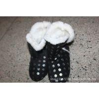 厂家直销多款室内雪地靴20000双 清仓处理库存室内棉鞋5.99起