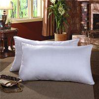 床上用品全棉保健枕护颈枕单人酒店磨毛压花枕头宾馆枕芯特价批发