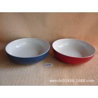 白色陶瓷餐具 自助餐厅肉盘 耐用菜盘 火锅城盘子 大型肉盘 A558