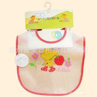 供应婴儿口水巾 外贸口水巾 防水口水巾 造型口水巾 宝宝口水巾