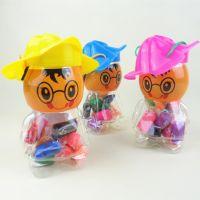 批发香味彩泥 桶装13色带模具安全无毒橡皮泥 儿童过家家动手玩具