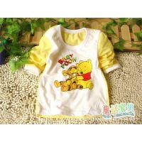 新款童装 宝宝迪士尼图案 纯棉长袖T恤 儿童打底衫