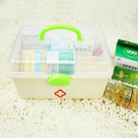 大号药箱 家庭用保健药箱 药盒 家庭药盒 医药箱
