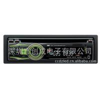 新款可拆面板车载DVD/VCD/CD/MP3/MP4/WMA/FM/AM播放机
