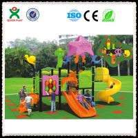 供应幼儿园户外大型儿童攀爬滑玩具游乐设施设备 广州奇欣QX050A