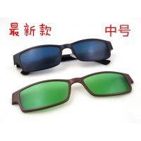 高端近视套镜 半框眼镜男眼镜 时尚商务男士眼镜架 近视眼镜框686