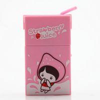 迷你小风扇 干电池小电扇 饮料盒款式 糖果色 创意时尚