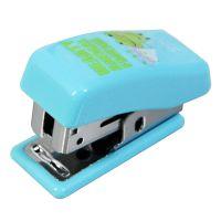 得力文具办公用品 0303迷你型订书机 装订机 12#卡通订书器