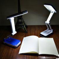 久量LED-688 迷你折叠学习护眼小台灯 LED充电台灯