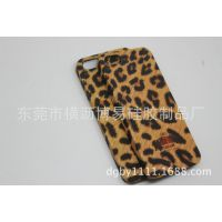 硅胶iphone豹纹塑胶壳 新款硅胶手机壳 热转印水转印壳