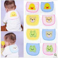 (轩贝可标准款)吸汗巾 宝宝隔汗巾 婴儿童纤维纱布垫背巾