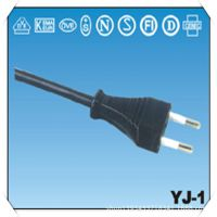 供应VDE三芯欧洲插头/品字插电源线(插头电源线)