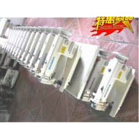 韩国日星KM-757高速喷油平板双针/服装 箱包鞋帽加工设备工业针车