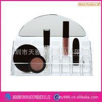 亚克力展示架亚克力化妆品展示架香水护肤品销售展示架亚克力工厂