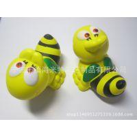 PU蜜蜂【米特品牌】厂家直销欧美环保无毒可印刷可喷漆仿真动物