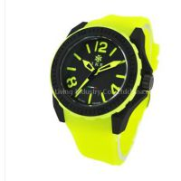 Silicone Watch Japan Movement 3/5ATM Waterproof Sample Available