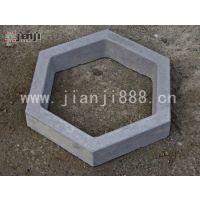 六棱护坡砖、六角护坡砖、水泥六角护塝砖