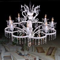 厂家灯饰直批水晶餐厅客厅吊灯客厅灯具意大利后现代灯饰6813-6